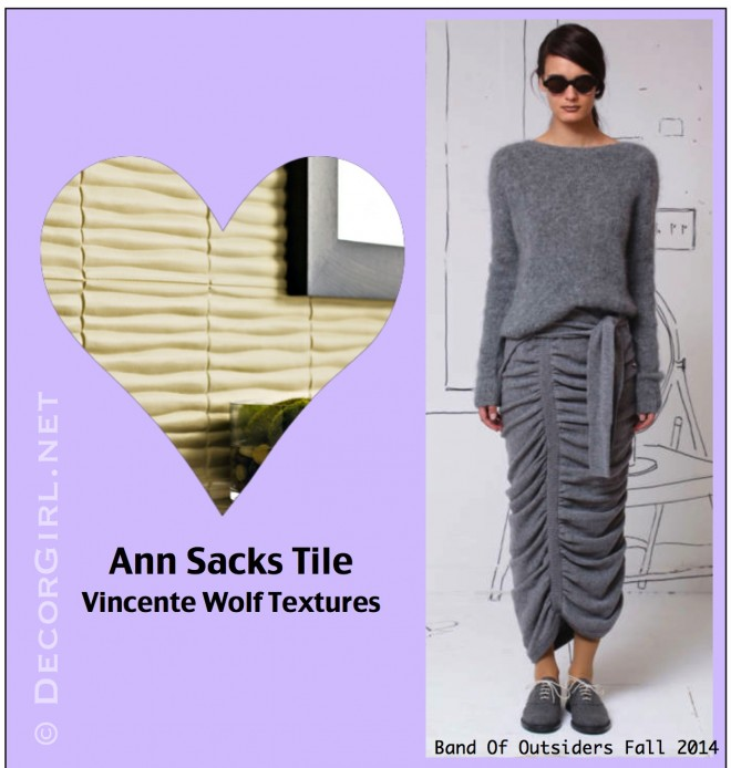 Band of Outsiders and Ann Sacks Tile