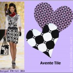 Fashion Week + Valentine's = Tile Love