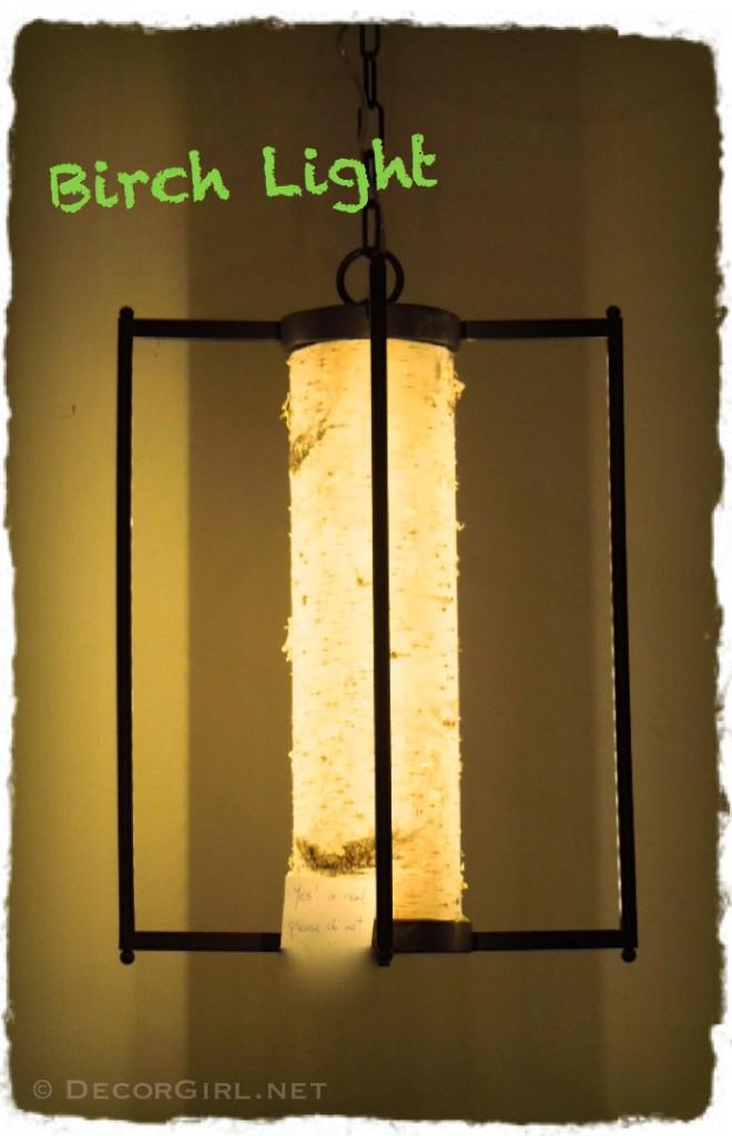 Birch Bark Lantern
