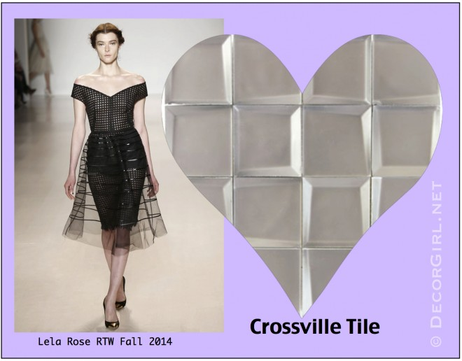 Lela Rose and Crossville Tile