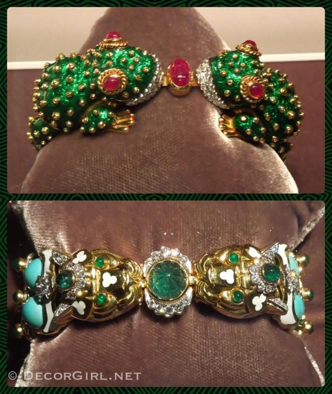 David Webb animal bracelets
