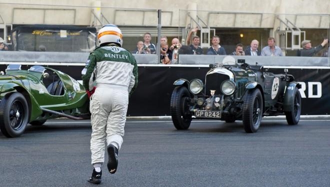 Derek Bell at 2102 Le Mans Classic