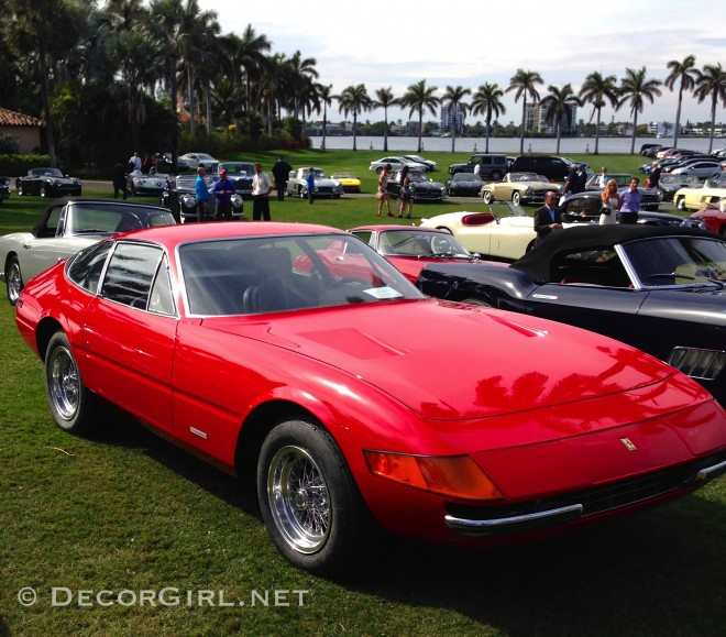 Ferrari Daytona at Mar-A-Lago