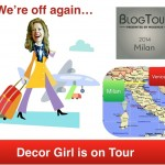 Top Editors + Modenus + Design + Italy = BlogTourMilan