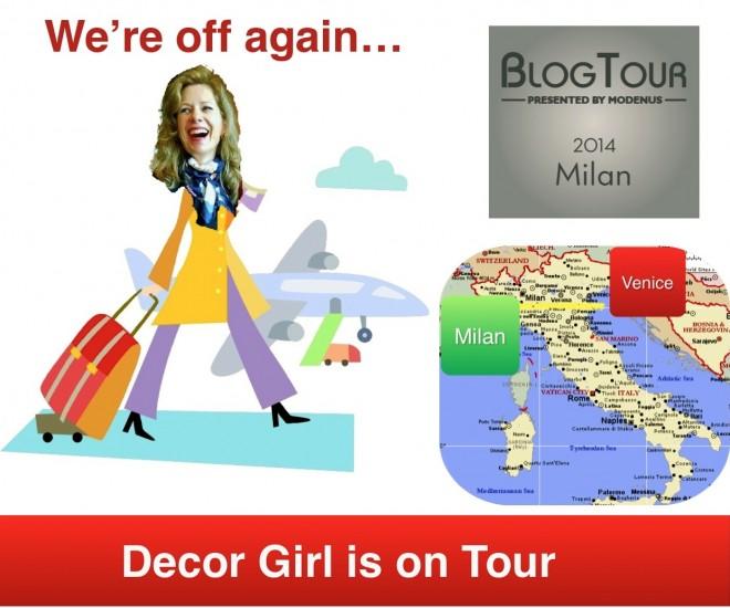 Blog Tour Milan 2014 and Decor Girl