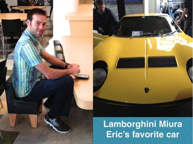 Eric and Lamborghini Miura