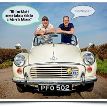 Matt Holt and Morris Minor