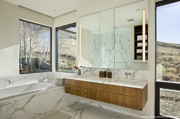 Marmol Radziner bathroom
