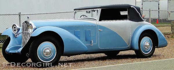 1936 Talbot Lago T150C Figoni & Falaschi Cabriolet