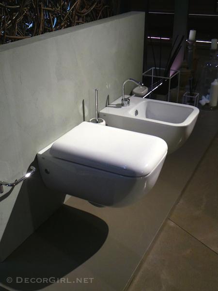 Gessi toilet and bidet