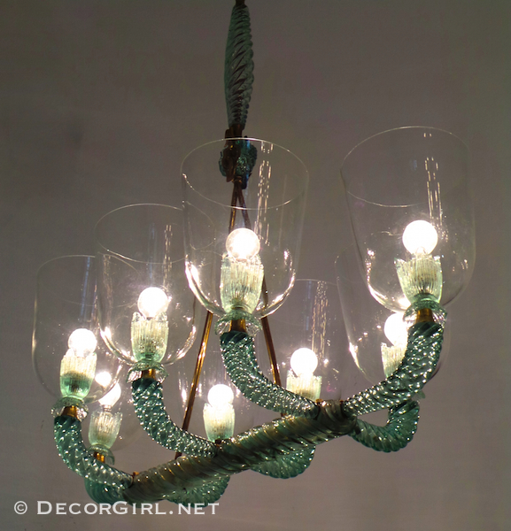 antique Murano Glass lighting