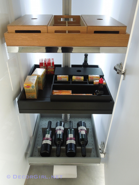 Clever Storage Lavido tray options