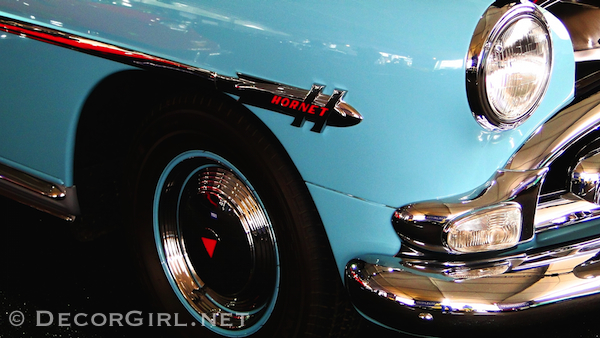 Blue Hudson Hornet