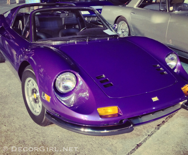 Ferrari Dino in purple