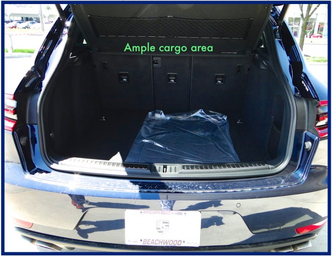 Ample Cargo Area in Macan