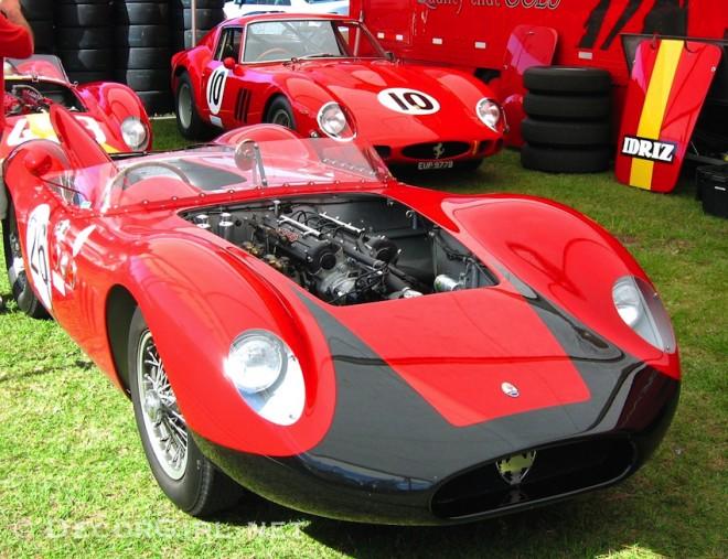 Vintage Maserati Race Car