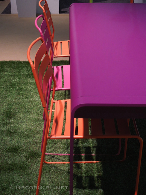 Color in Outdoor furniture