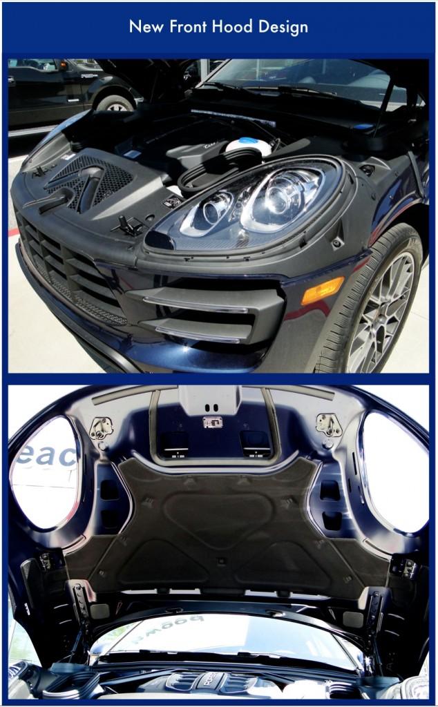 New Porsche Hood Design