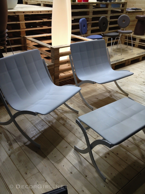 Modern Outdoor Furniture Texture