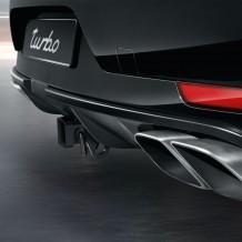 Porsche Macan Turbo Tailpipe