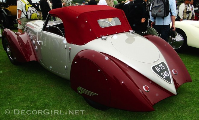 1937 Peugeot 302Ds Darl'mat Pourtout Cabriolet