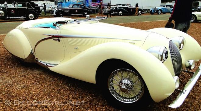 1937 Talbot-Lago T150C Figoni & Falaschi Cabriolet