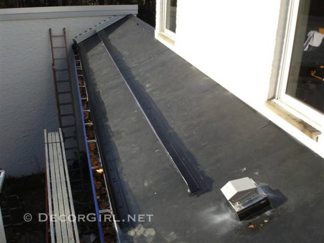 Firestone EPDM Rubber on roof