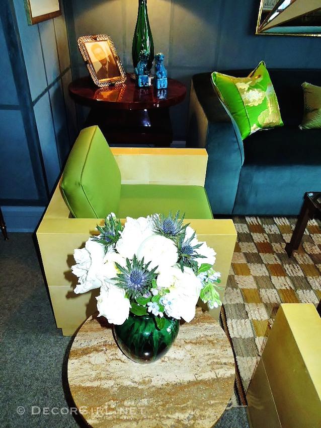 Fresh flowers in interior