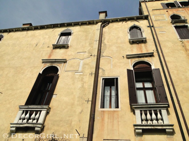 Exterior architecture of Palazzo