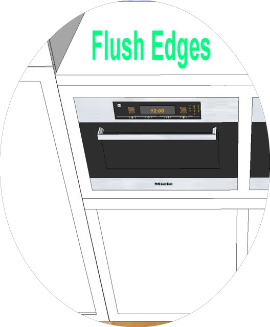 Edge detail - Flush