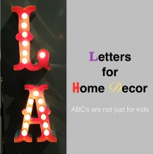 Letters for Home Decor