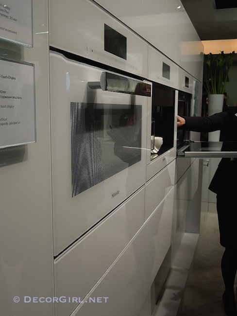 Miele flush mounted appliances