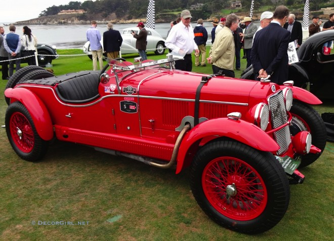 1929 OM 665 MM Team Car Sport Milano Roadster