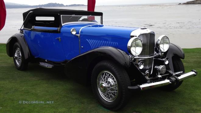 1933 Duesenberg J Fernandez et Darrin Convertible Victoria