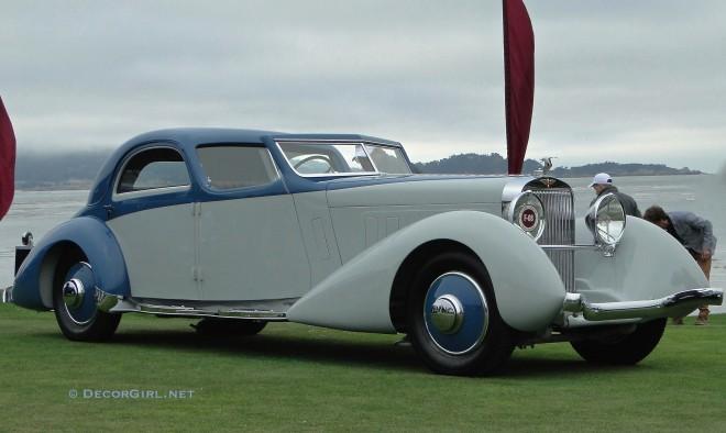 1934 Hispano-Suiza K-6 Fernandez et Darrin Coupe Chauffeur