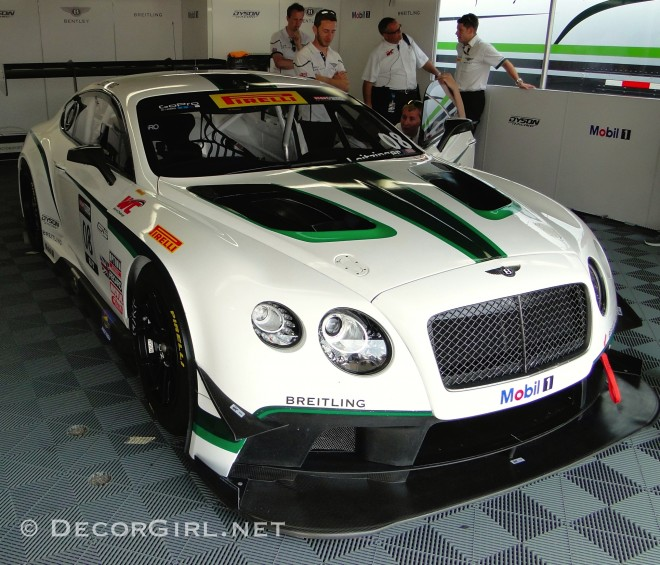 Bentley Continental GT3 at Mid-Ohio 2014