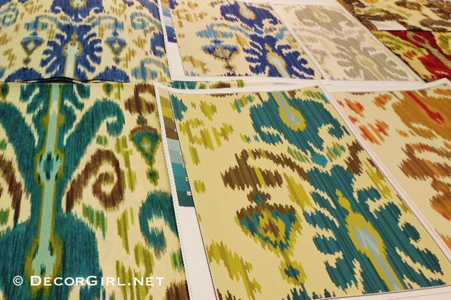 Ikat fabrics and wallpaper at Kravet