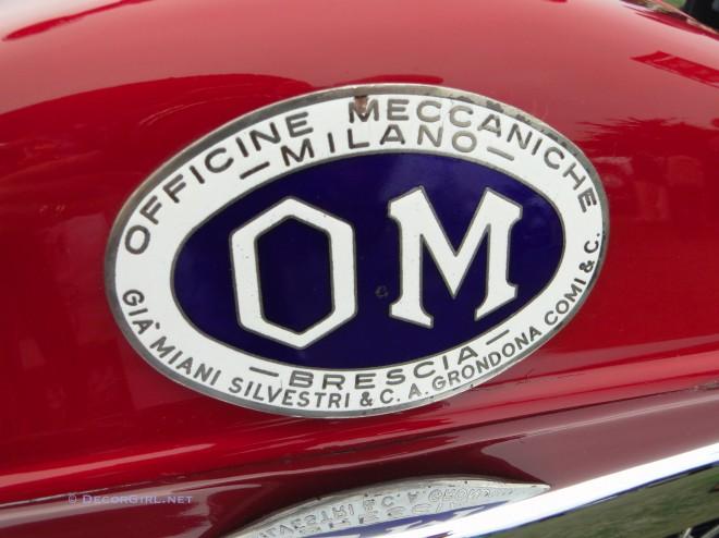 OM vintage car