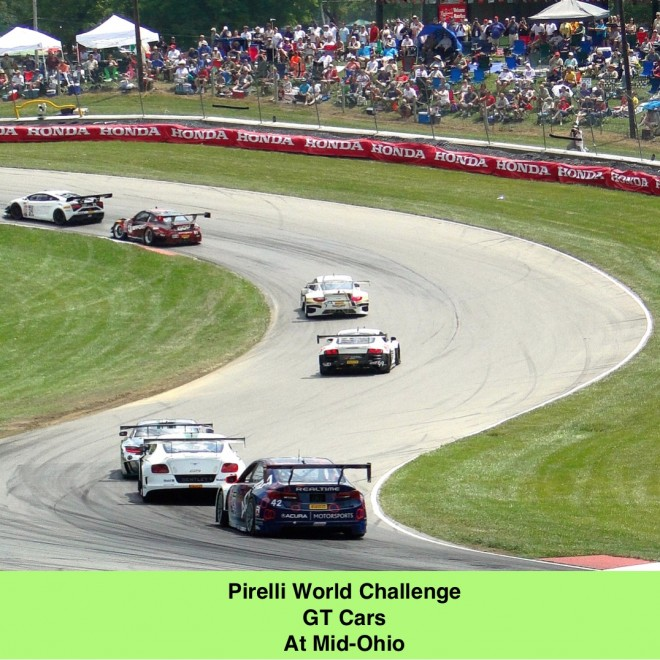 Pirelli World Challenge GT Cars