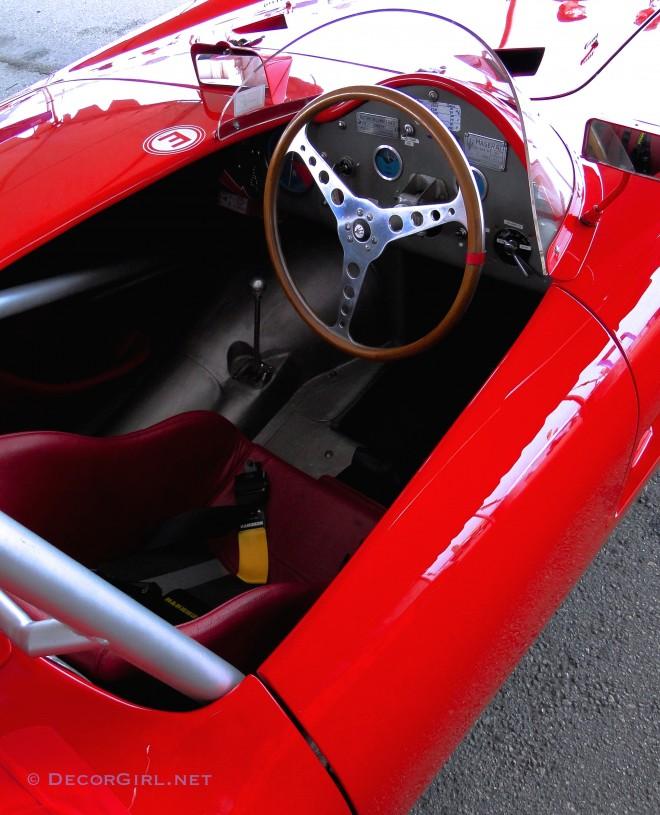 Cockpit of 1955 Maserati 300S