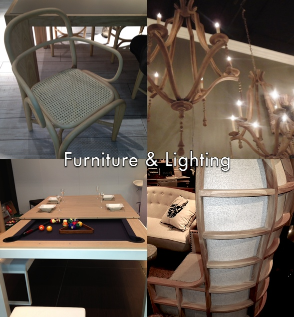 Driftwood furniture and lighting