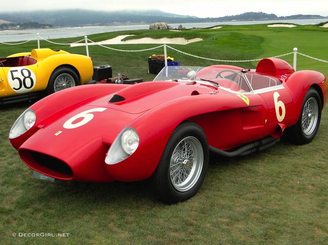 957 Ferrari 250 Testa Rossa Scaglietti Spyder