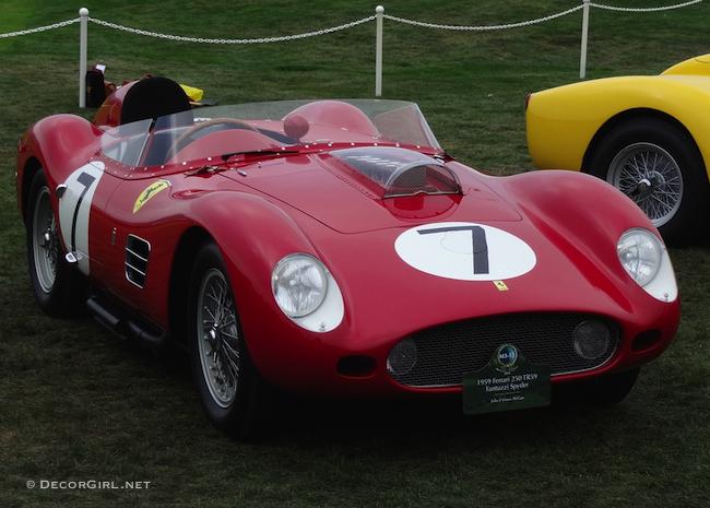 M3-15 1959 Ferrari 250 TR59 Fantuzzi Spyder
