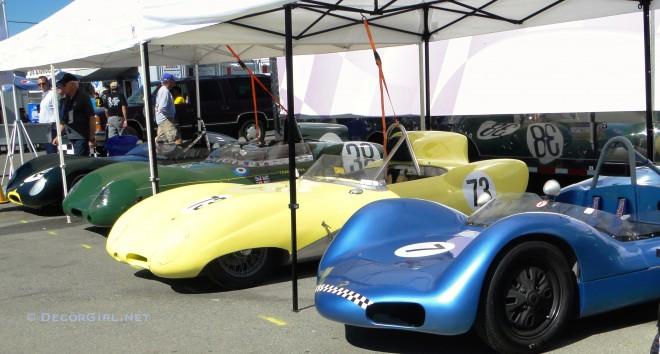 Vintage Racing Jaguars