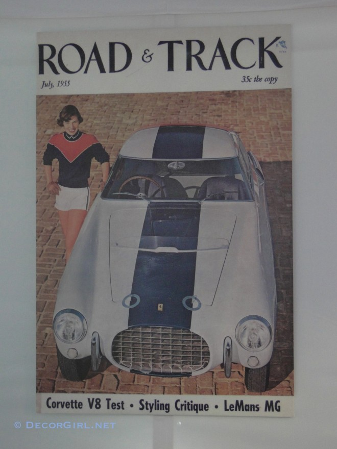 1953 Ferrari 250 Mille Miglia PF Berlinetta  on cover of Road and Track