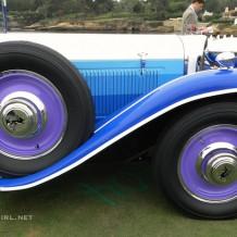 Blue striped Ruxton