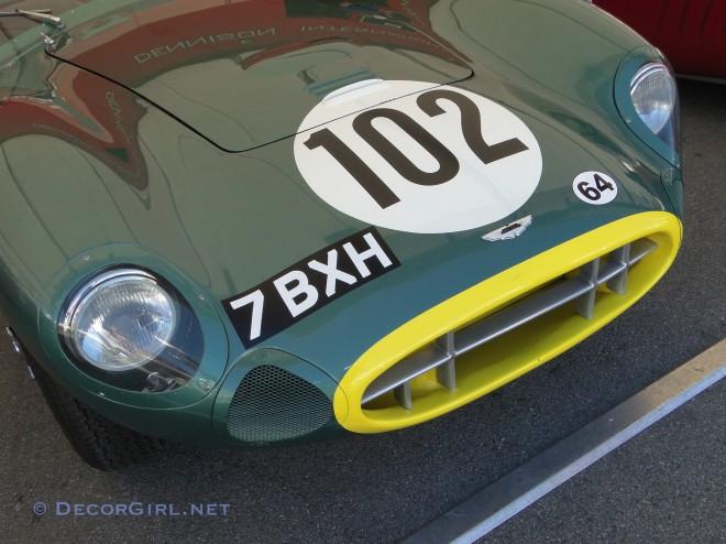Racing Aston Martin