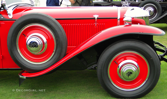 Red Ruxton Roadster