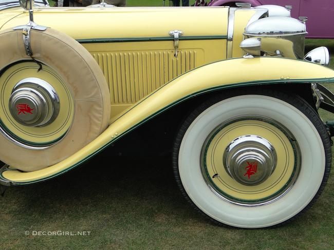 1930 Yellow Ruxton Roadster