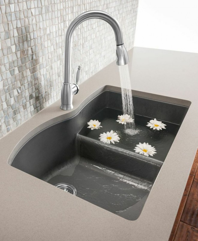 Blanco Low divide Diamond sink